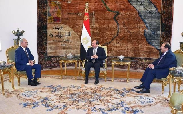 السيسي يبحث مستجدات الأوضاع في ليبيا مع المشير حفتر