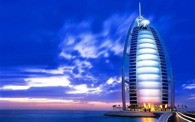 فندق برج العرب أحد أكبر الفنادق بإمارة دبي، الصورة أرشيفية