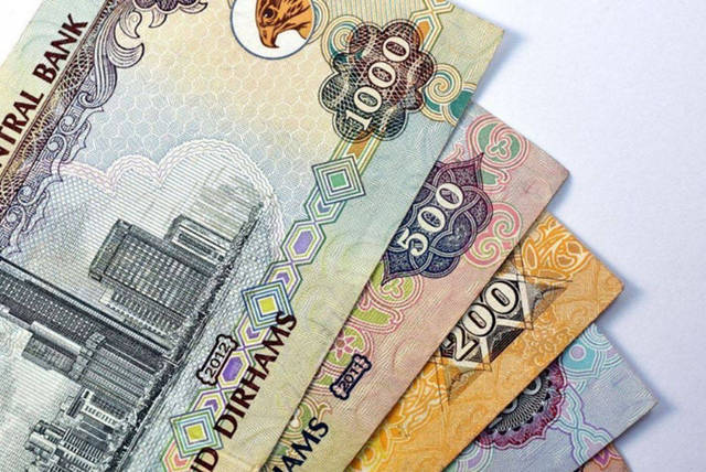 فئات من العملات الإماراتية