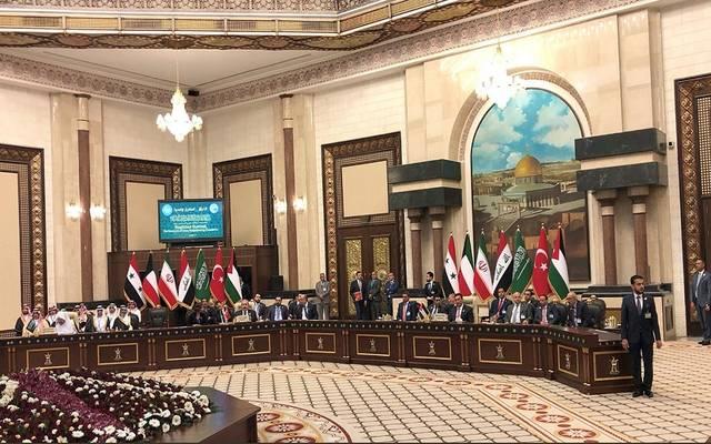 أعمال مؤتمر قمة برلمانات دول جوار العراق