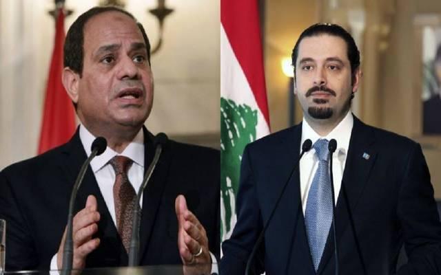 الرئيس السيسي استقبل اتصالا هاتفيا من الرئيس اللبناني قبل لقاء الحريري