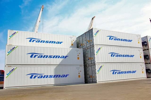 Transmar witnessed a doubling of reefer container shipping exports in 2020