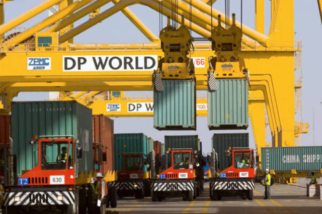 The transaction totals less than 1% of DP World's NAV