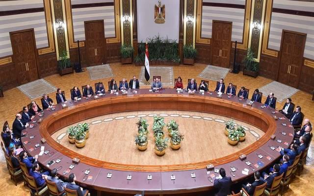 جانب من لقاء الرئيس المصري بصناديق الاستثمار العالمية أمس الثلاثاء