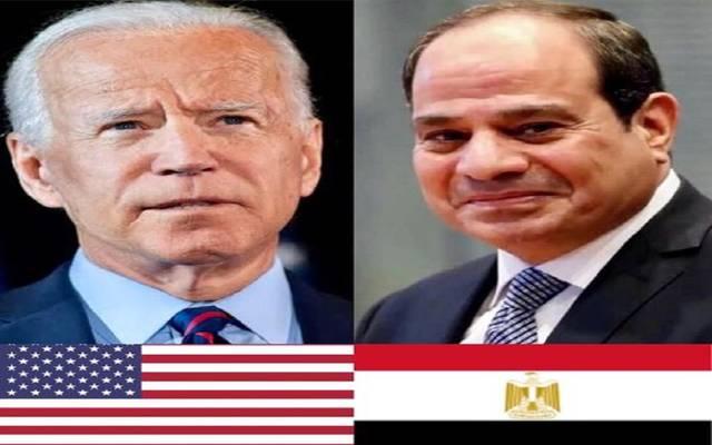 السيسي مهنئاً بايدن: مصر تتطلع لتعزيز التعاون مع الولايات المتحدة الأمريكية