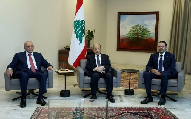 الرئيس اللبناني يستقبل سعد الحريري رئيس الحكومة الملكف