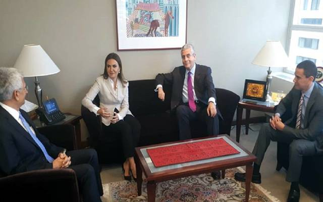 Minister Sahar Nasr met in Washington with the World Bank's VP for Middle East and North Africa