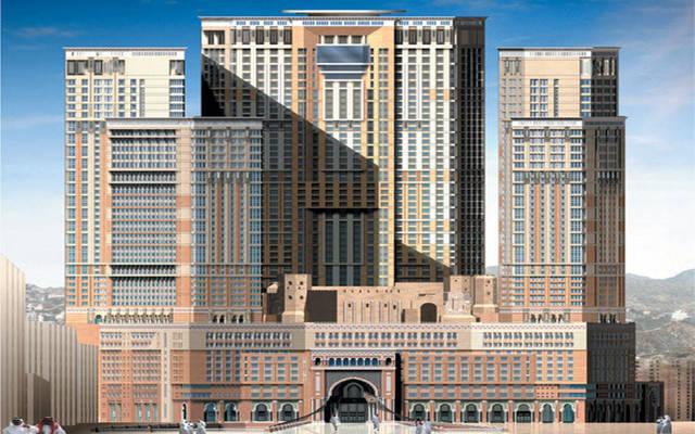 برج زمزم، أحد مشاريع الشركة في مكة بالسعودية