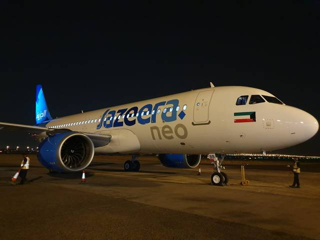 Jazeera Airways operates a 10-aircraft Airbus fleet