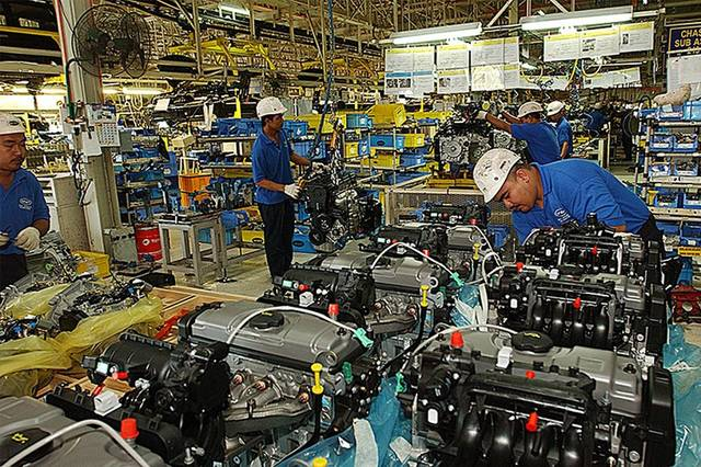 Non-oil manufacturing activities increased 12.2% in April