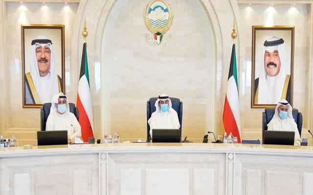 خلال الاجتماع الاستثنائي لمجلس الوزراء الكويتي