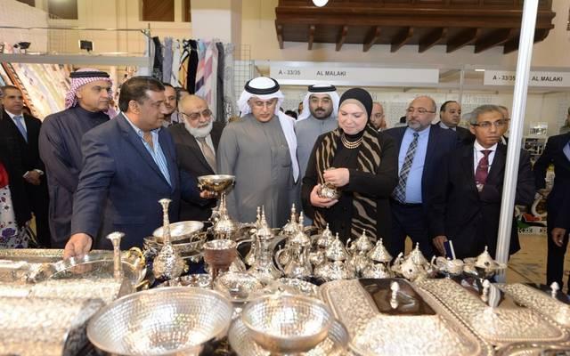 جانب من افتتاح الجناح المصري في البحرين