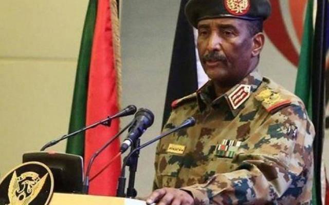 عبد الفتاح البرهان رئيس مجلس السيادة السوداني