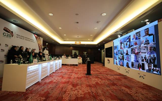 مجموعة عمل السياحة في  مجموعة العشرين تحت رئاسة السعودية تعقد اجتماعا افتراضياً لمناقشة تأثير جائحة كورونا على القطاع السياحي