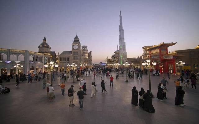 سياح في إمارة دبي ـ أرشيفية
