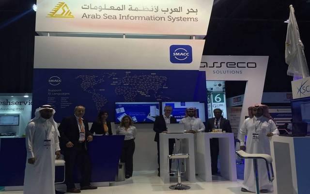 جناح شركة بحر العرب لأنظمة المعلومات بأحد المعارض - أرشيفية