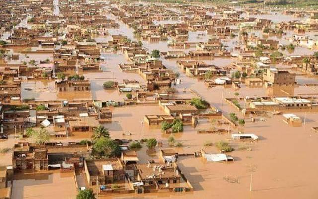 صورة لسيول السودان