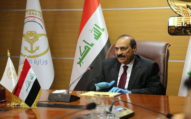 ناصر الشبلي وزير النقل العراقي