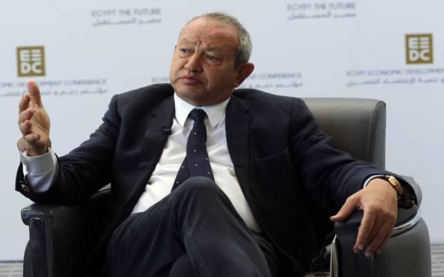 رجل الأعمال المصري ورئيس شركة أوراسكوم للاستثمار القابضة، نجيب ساويرس
