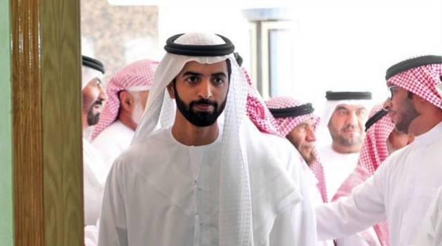 الشيخ محمد بن سعود بن صقر القاسمي، ولي عهد رأس الخيمة، رئيس مجلس القضاء