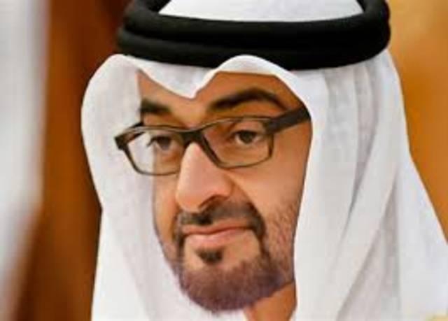 ولي عهد أبوظبي رئيس المجلس التنفيذي لإمارة أبوظبي الشيخ محمد بن زايد آل نهيان