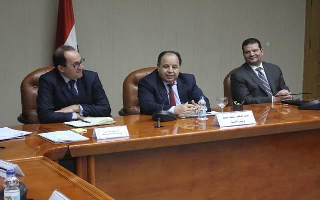 خلال اجتماع وزير المالية لمتابعة تحديث منظومة الإدارة الضريبية وميكنتها