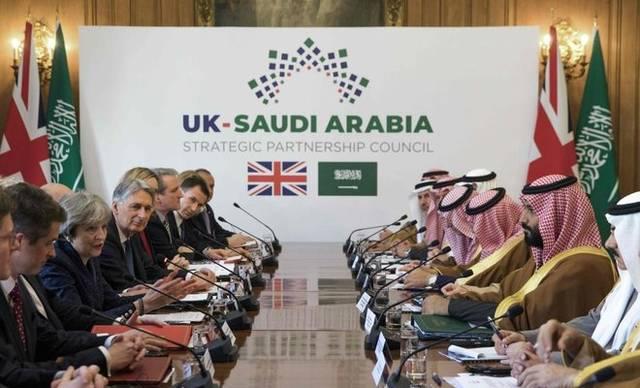 Saudi Crown Prince Mohamed Bin Salman is visiting the UK