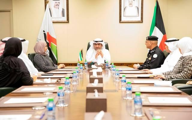 لقاء وزير التجارة والصناعة الكويتي بالوفد المشارك في اجتماعات الدورة 31 للجمعية العامة للمنظمة البحرية الدولية