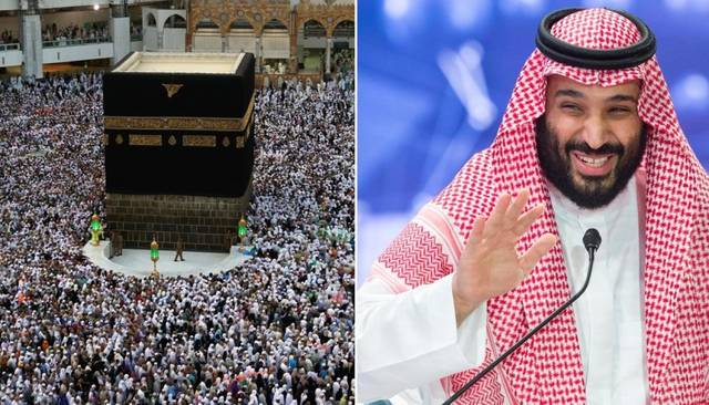 Bin Salman receives updates on Grand Mosque's 3rd expansion