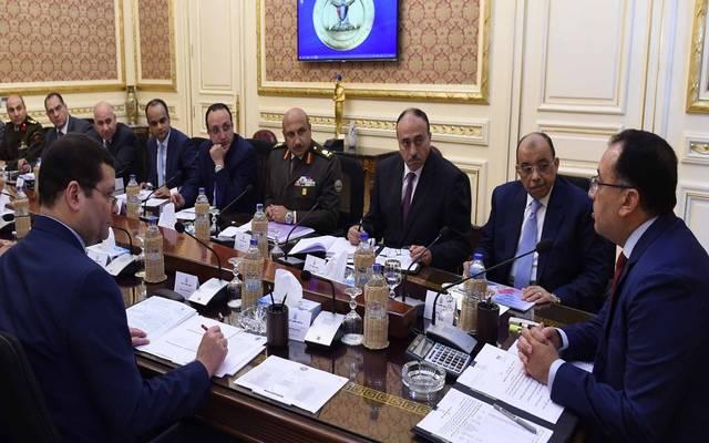 خلال اجتماع رئيس الوزراء المصري لاستعراض حوكمة نظام تأجير المحاجر