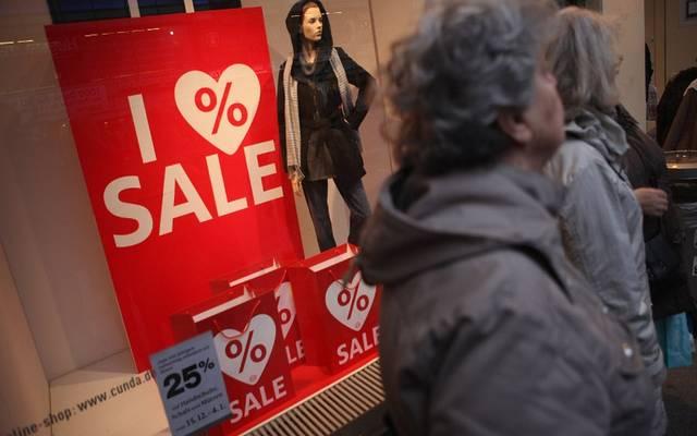ارتفاع مبيعات التجزئة في ألمانيا بأقل من المتوقع