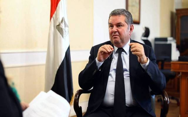 Egyptian public business sector minister Hisham Tawfiq