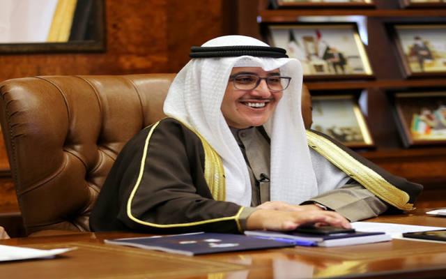 الشیخ الدكتور أحمد ناصر المحمد الصباح وزیر الخارجیة الكویتي
