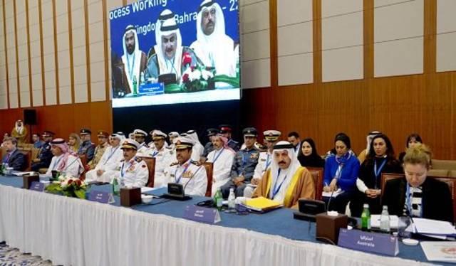 جانب من مشاركة الشيخ خالد بن أحمد بن محمد آل خليفة - وزير الخارجية البحريني