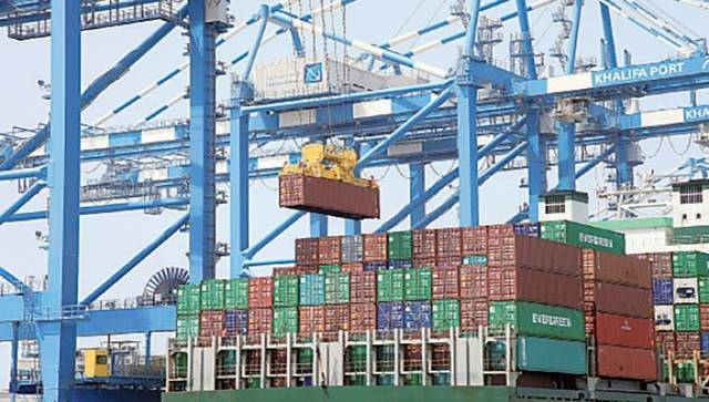 تجارة أبوظبي خليجياً ترتفع 7.7% بالربع الأول
