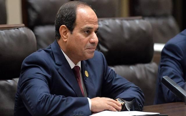 السيسي يؤكد لرئيس الاتحاد الأفريقي رفض الإجراءات المنفردة حول سد النهضة