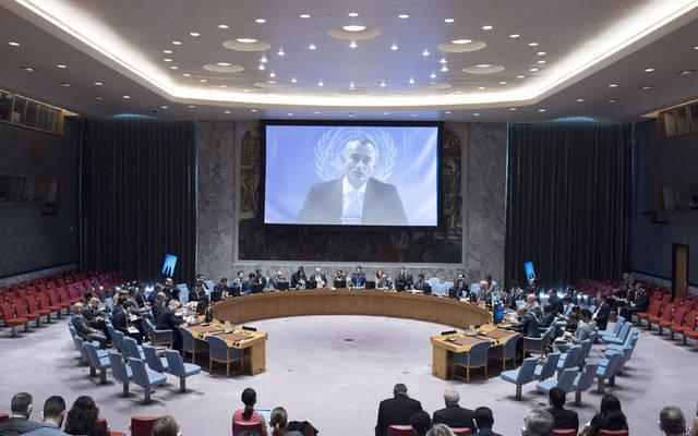 إجتماع مجلس الأمن الدولي