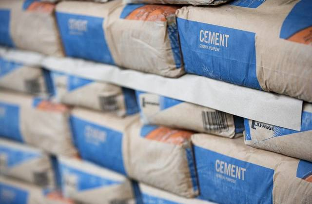 Global demand on cement to grow 1.5%