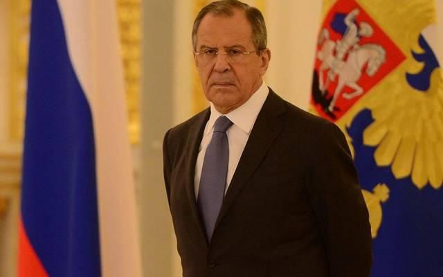 سيرجي لافروف- وزير الخارجية الروسي
