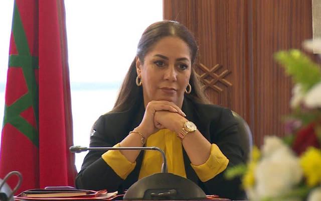 وزيرة الاسكان المغربية نزهة بوشارب