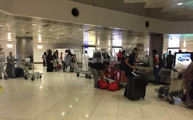 صورة من داخل مطار الكويت الدولي