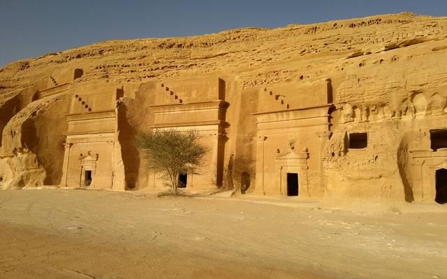 مدائن صالح بمدينة العلا السعودية