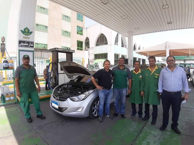مصر..بروتوكول بين البترول  و الخدمة الوطنية  لتحويل السيارات للعمل بالغاز الطبيعي - معلومات مباشر