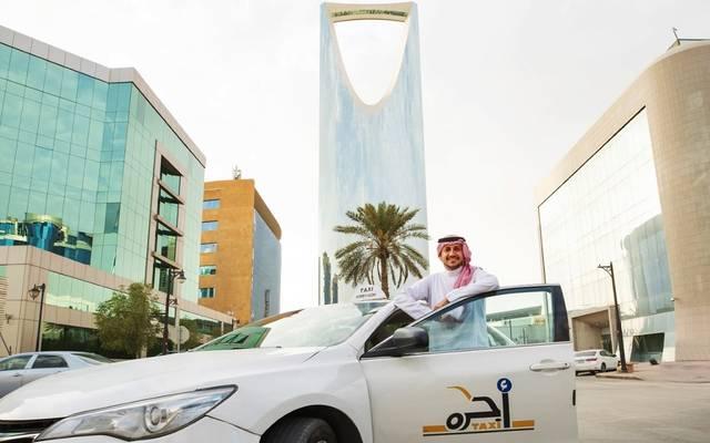 سيارات أجرة بالسعودية تابعة لشركة أوبر، أرشيفية