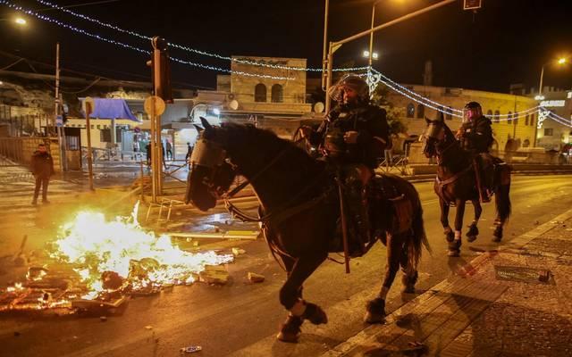 جانب من الأحداث في القدس