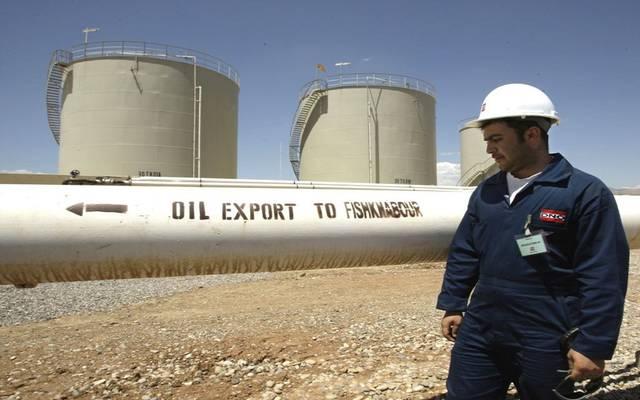 """تدفقات النفط بخط """"كردستان- جيهان التركي"""" تنخفض لـ225 ألف برميل"""