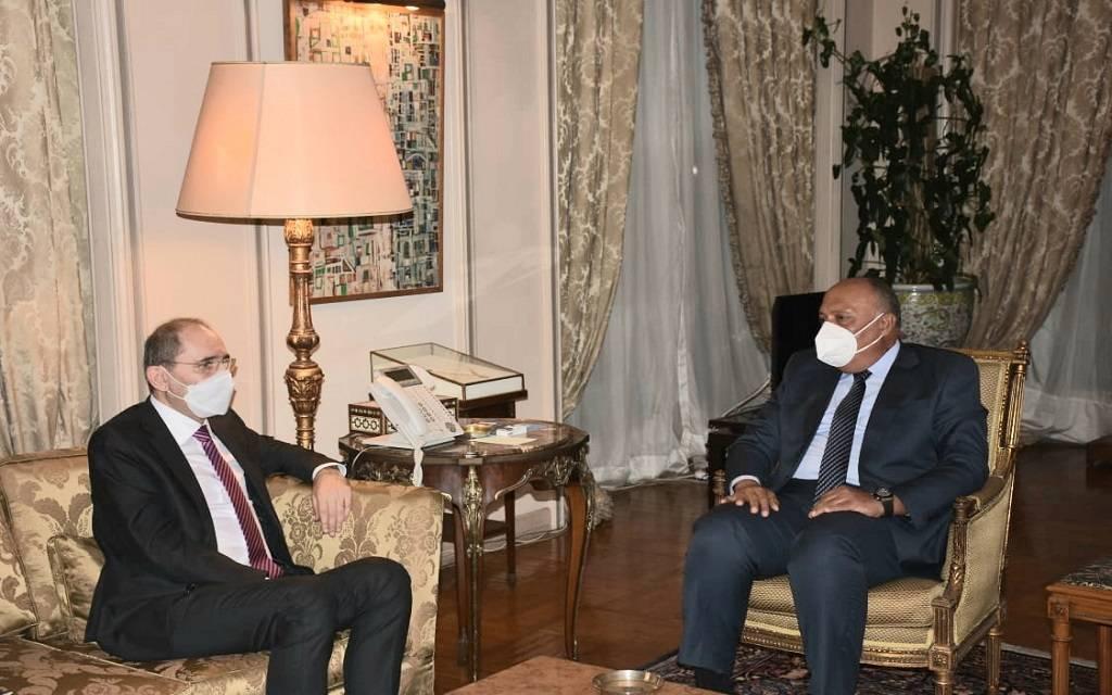 """مباحثات """"مصرية - أردنية"""" لتعزيز العلاقات الثنائية والقضايا الإقليمية والدولية"""