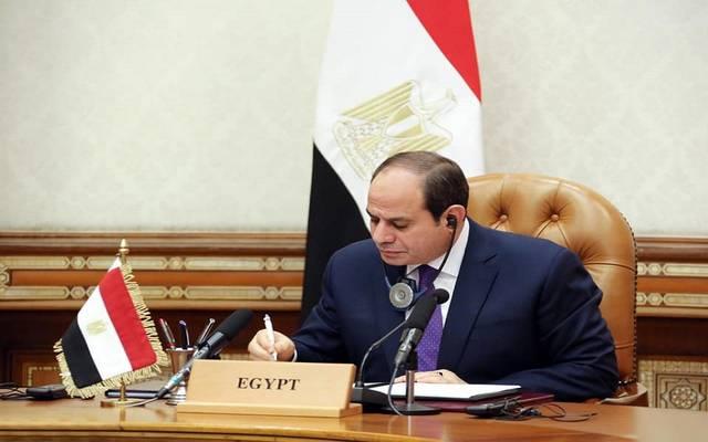 السيسي يطالب القادة اللبنانيين بإعلاء المصلحة الوطنية وتسريع جهود تشكيل حكومة