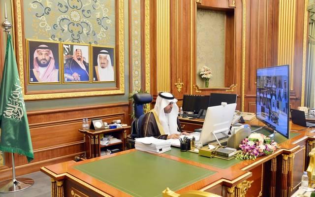 جانب من جلسة مجلس الشورى السعودي اليوم برئاسة نائب رئيس المجلس مشعل السُّلمي