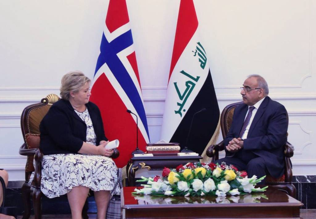 Iraq and Norway sign oil-for-development agreement 1024